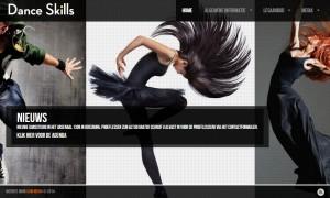 Dance Skills website